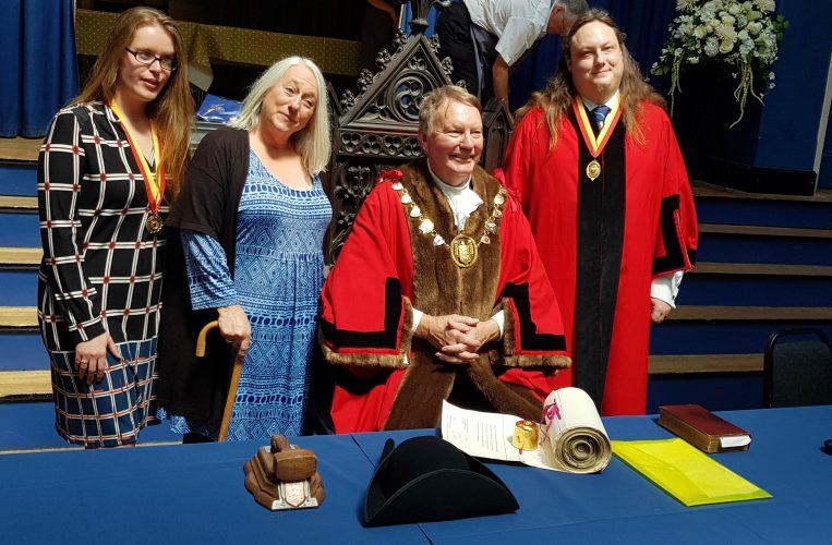 Noc becomes Deputy Mayor of Blandford