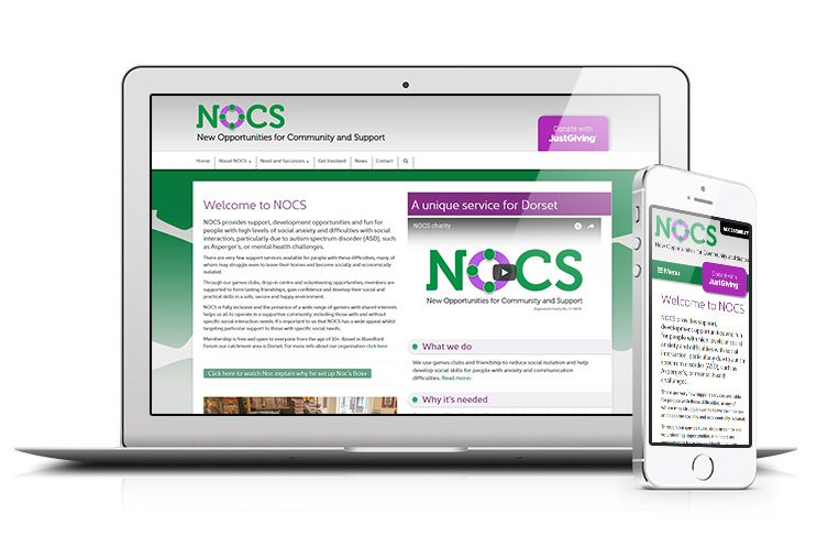 NOCS charity launches its website